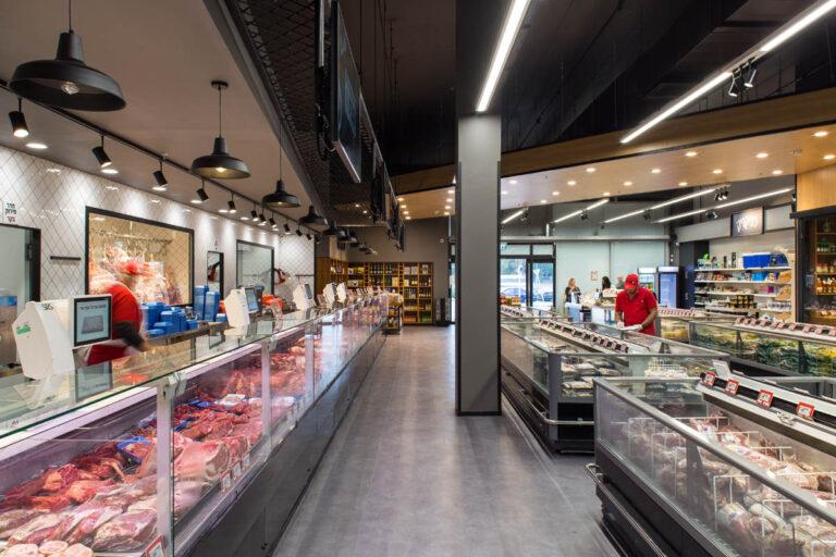 תכנון ועיצוב חנות בשר נתח קצבים